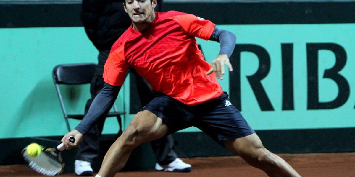 Chile tiene nómina para duelo de Copa Davis ante Venezuela