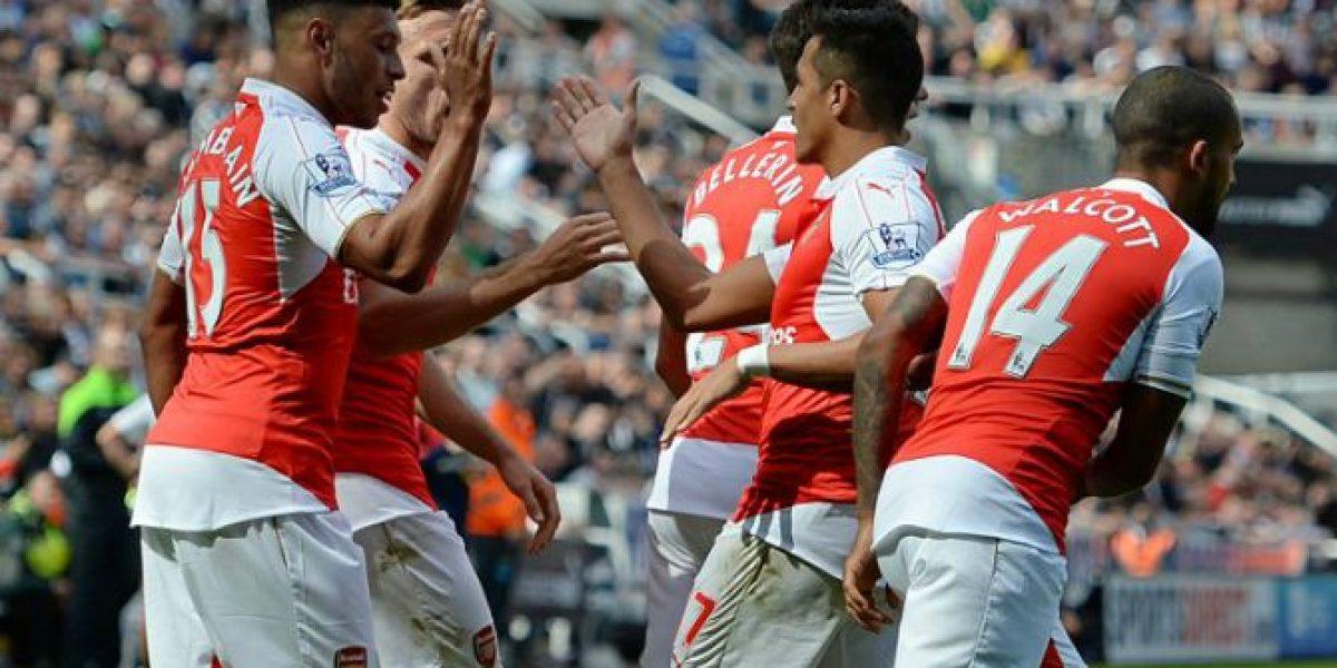 Así vivimos el mezquino triunfo de Arsenal sobre Newcastle por la Premier League