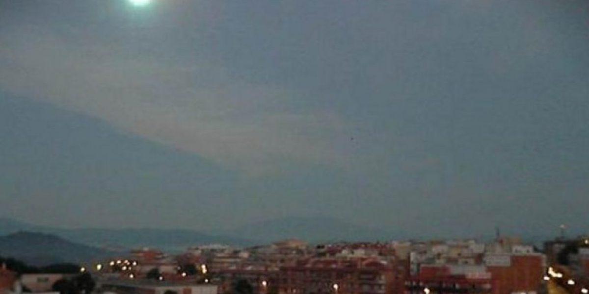 Impactante: bola de fuego irrumpe en pleno cielo de España