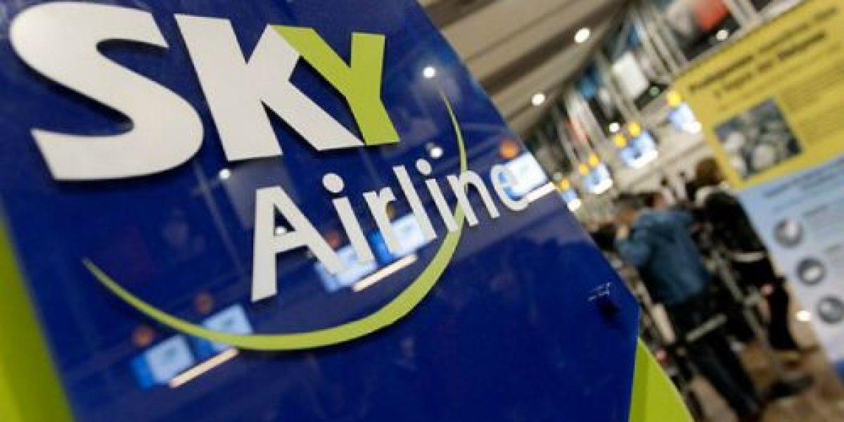 SKY Airlines asegura que tarifas de bajo costo no afectarán la seguridad