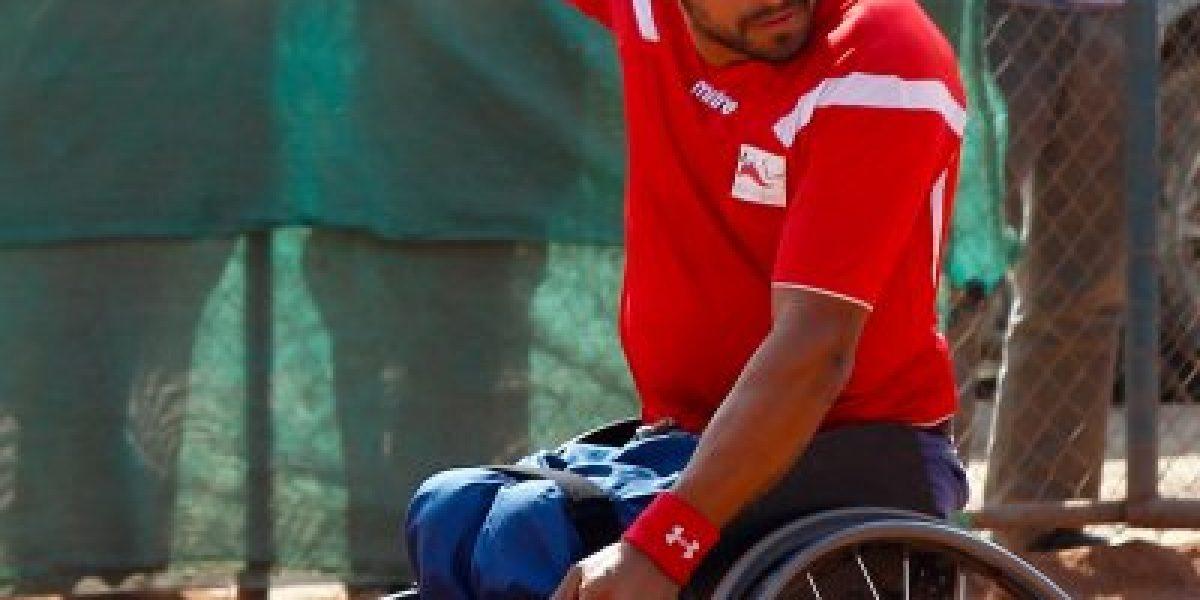 Robinson Méndez perdió la final del tenis paralímpico en el Open de Rusia
