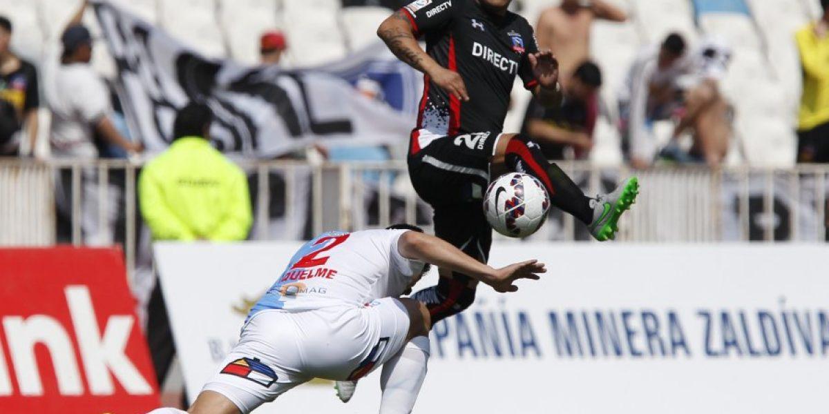 Humberto Suazo será evaluado tras salir lesionado en duelo ante Antofagasta