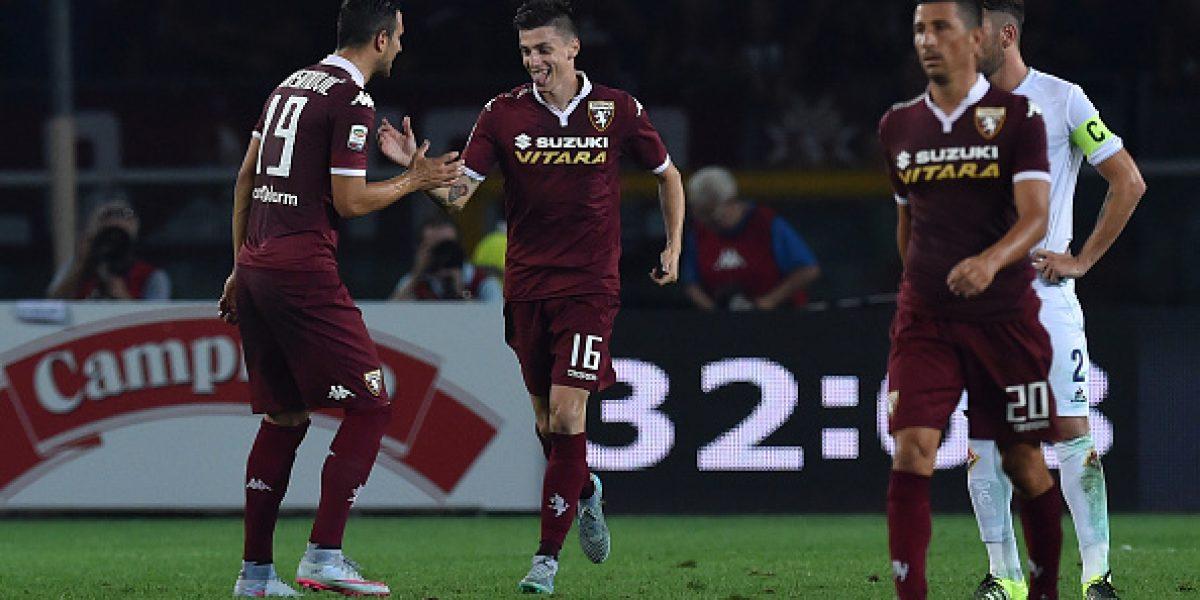 Medel y Pinlla celebraron en Italia, pero Fernández vio la derrota