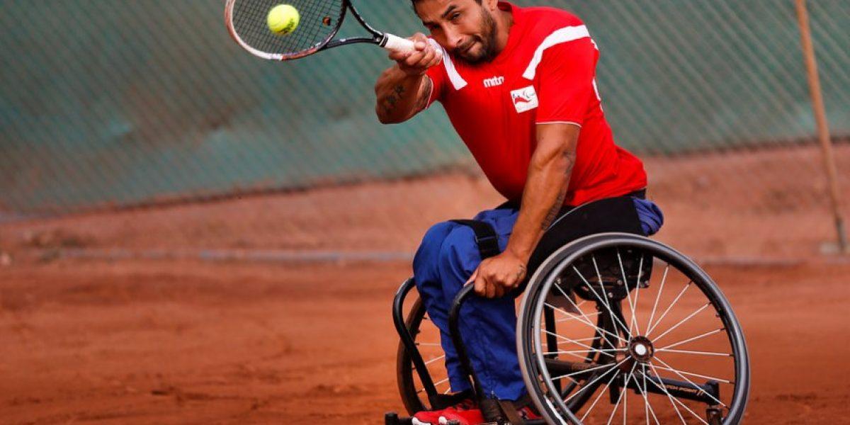 Robinson Méndez disputará la final de tenis paralímpico del Open de Rusia