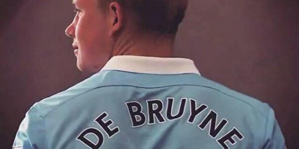 Kevin De Bruyne ya es jugador del Manchester City: