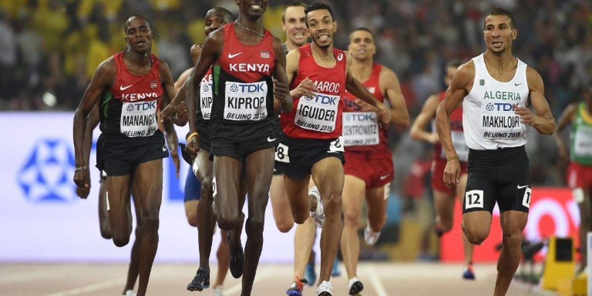 Asbel Kiprop: Tres veces campeón del mundo en 1.500 metros
