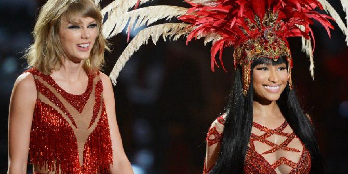 Taylor Swift y Nicki Minaj limaron sus asperezas con provocativo show