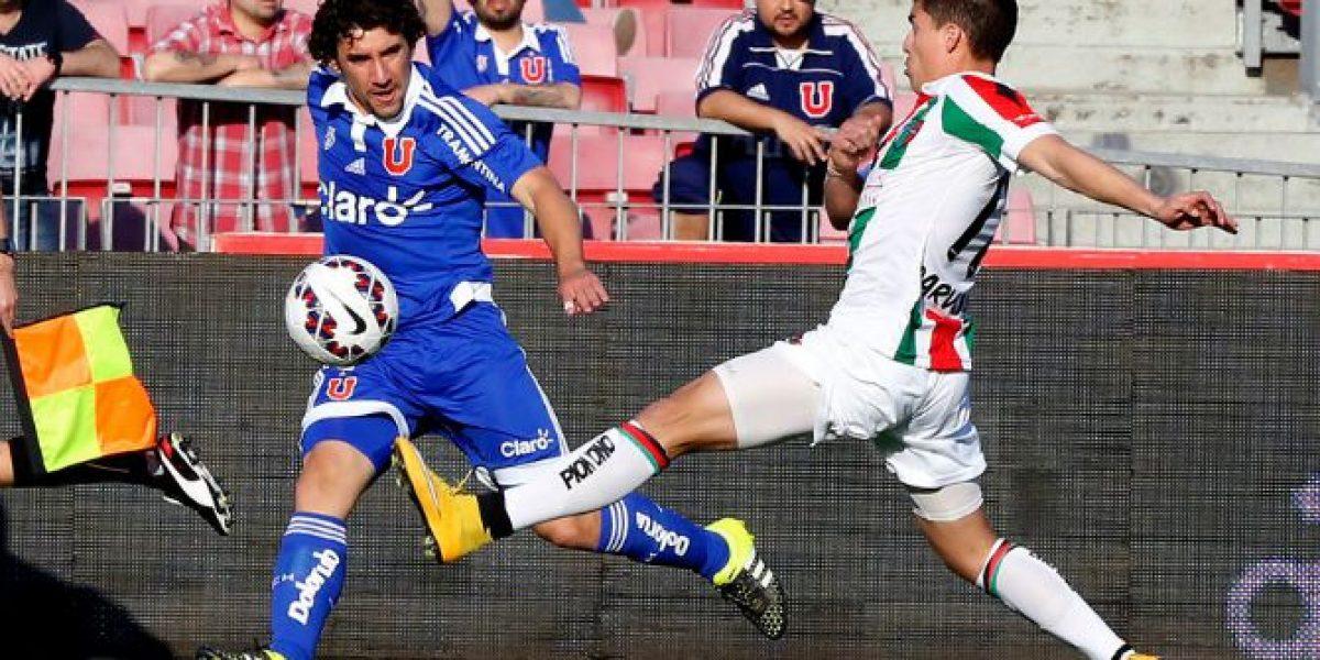 Así vivimos el vibrante empate 4-4 entre Universidad de Chile y Palestino