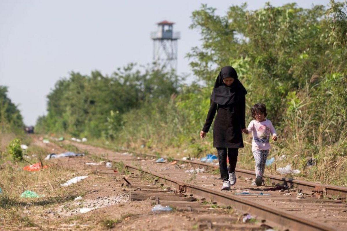 Los menores, se encontraban en situación crítica por deshidratación. Foto:Getty Images. Imagen Por: