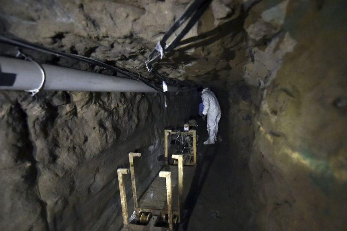 6. Además, había trampas en el túnel, las cuales se activaban en caso de que lo fueran siguiendo. Foto:AFP. Imagen Por: