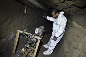 """5. Según el periódico """"El Universal"""", el narcotraficante tuvo """"tiempo suficiente"""" para escapar Foto:AFP. Imagen Por:"""