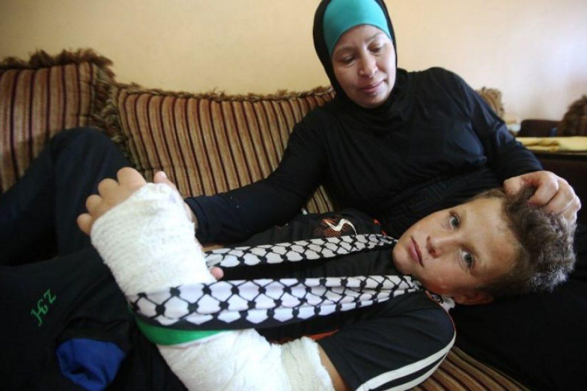 Mohammed regresó a su casa, en compañía de su familia Foto:AFP. Imagen Por: