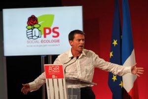 El cual dio frente a miembros del Partidos Socialista francés al cual pertenece Foto:AFP. Imagen Por:
