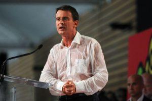 Así lucía Manuel Valls al término de su discurso. Foto:AFP. Imagen Por: