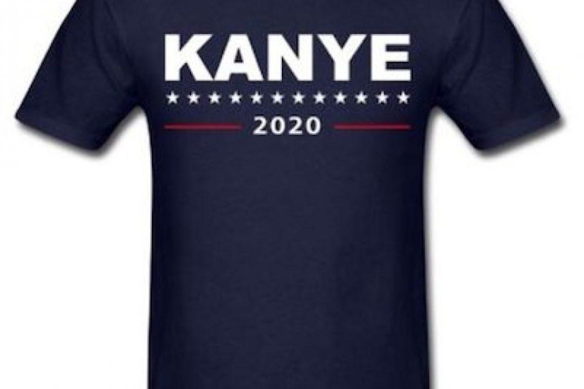 Ya se comercializan camisetas de su campaña. Foto:Instagram.com/explore/tags/kanyewest. Imagen Por: