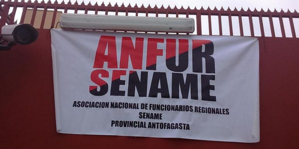 Trabajadores del Sename inician paro nacional