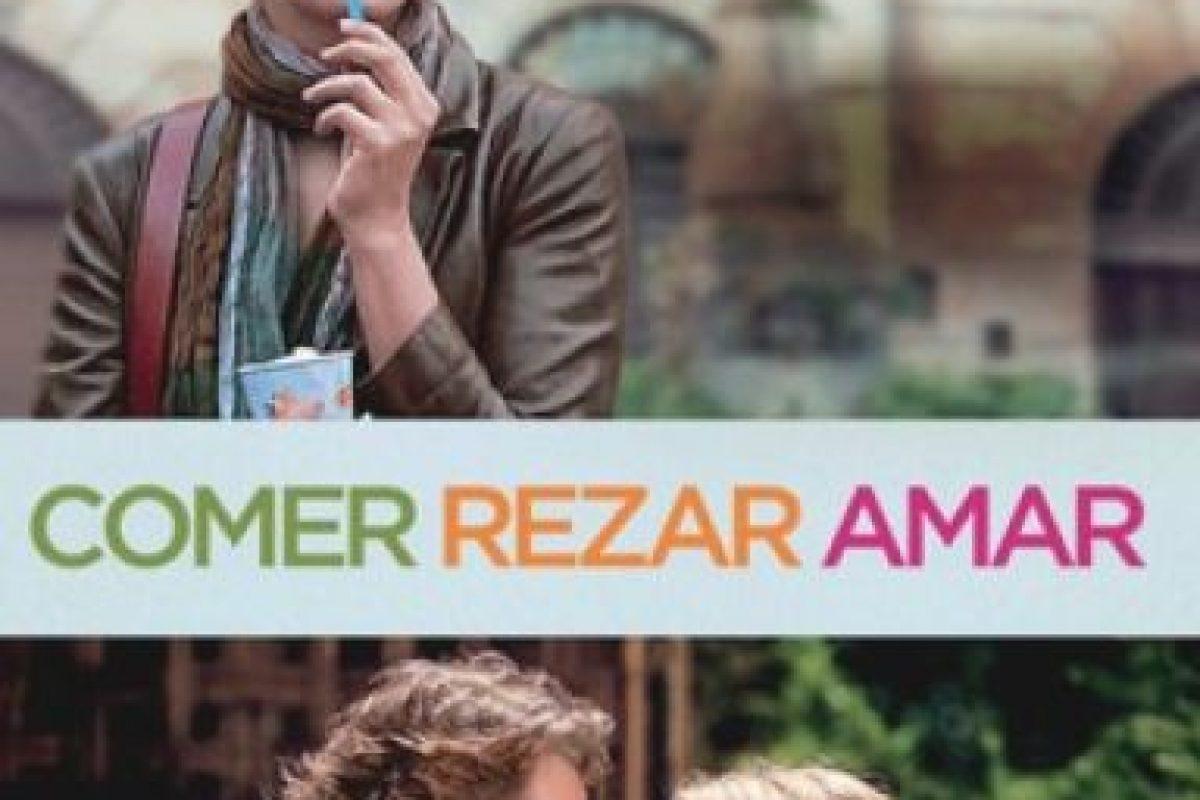 """""""Comer, Rezar, Amar"""". Disponible a partir del 1 de septiembre. Foto:Sony Pictures. Imagen Por:"""