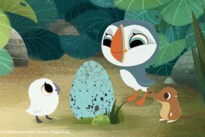 """""""Puffin Rock"""". Disponible a partir del 1 de septiembre. Foto:Cartoon Saloon. Imagen Por:"""