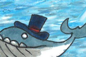 Una ballena con sombrero. Foto:Google. Imagen Por: