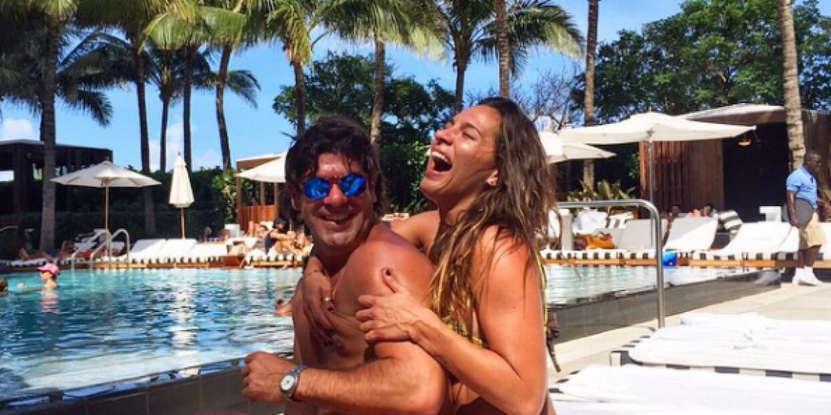 Romántico Marcelo Salas sorprendió a Gianella Marengo en su cumpleaños