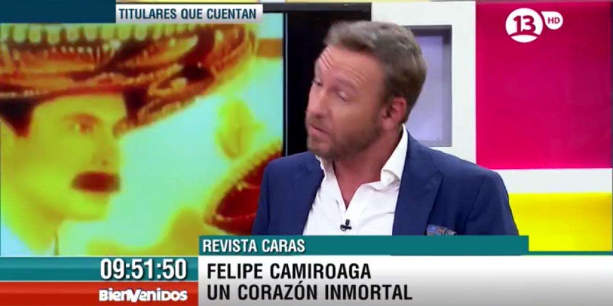 Tonka aún no borra de su celular el contacto de Felipe Camiroaga