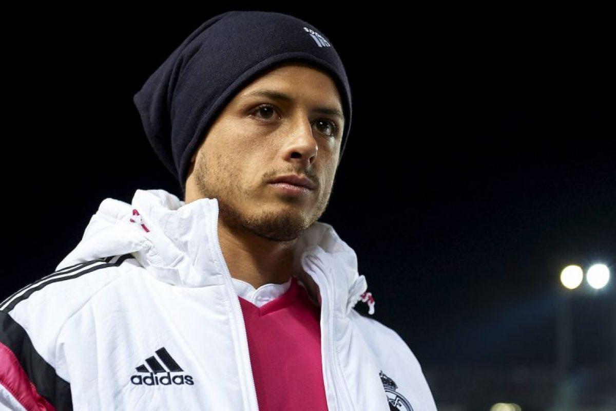 2. Javier Hernández Foto:Getty Images. Imagen Por: