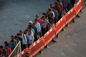 4. Las tasas de mortalidad son muy diferentes en Italia y Grecia, países que registraron entradas de inmigrantes ascendentes a 97 mil y 90 mil 500 respectivamente. Foto:Getty Images. Imagen Por: