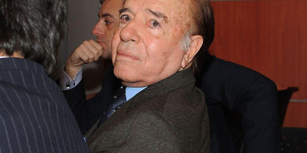 Instalarán estatua de 20 metros de Carlos Menem en su pueblo natal
