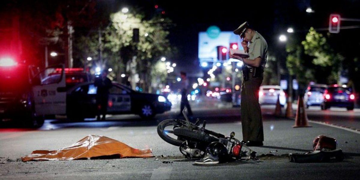 Conductor de moto muere tras ser arrollado por un taxi en El Bosque