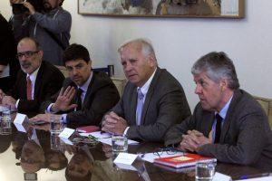 Miembros de la Nueva Mayoría Foto:Agencia Uno. Imagen Por: