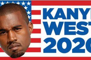 ¿Kanye West para presidente? Foto:Vía Twitter. Imagen Por: