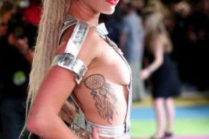 Miley Cyrus ¡De infarto su outfit! Foto:Getty Images. Imagen Por:
