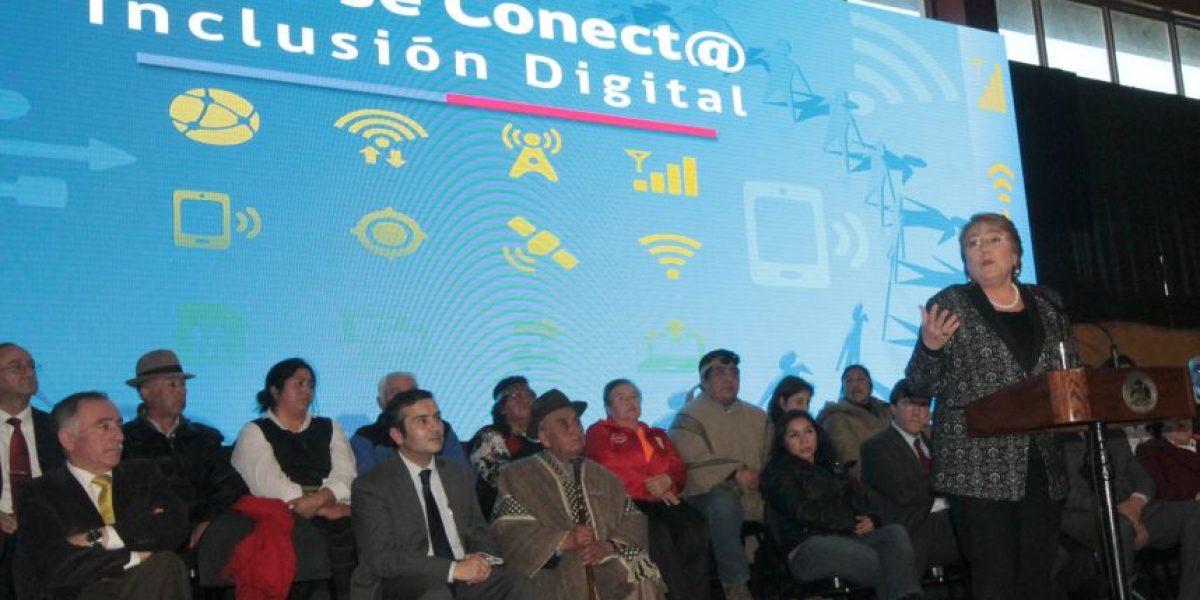Presidenta lanzó II Etapa de Conectividad Digital de Zonas Extremas