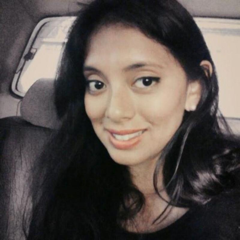 Ella es Cintya Malpartida, la periodista que fue golpeada. Foto:Vía twitter.com/cfrejya. Imagen Por: