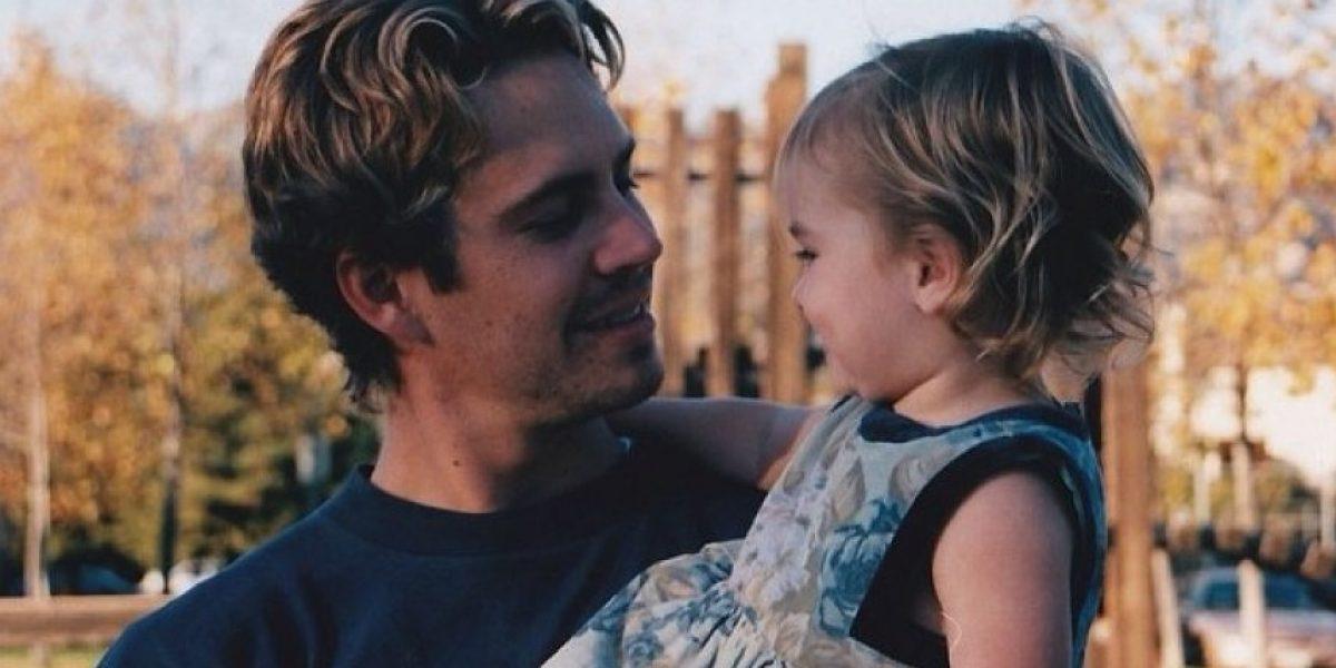Hija de Paul Walker recuerda el cumpleaños de su padre con tierna fotografía