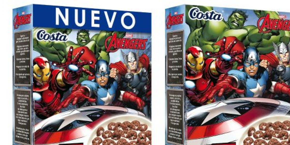 Costa lanza cereal