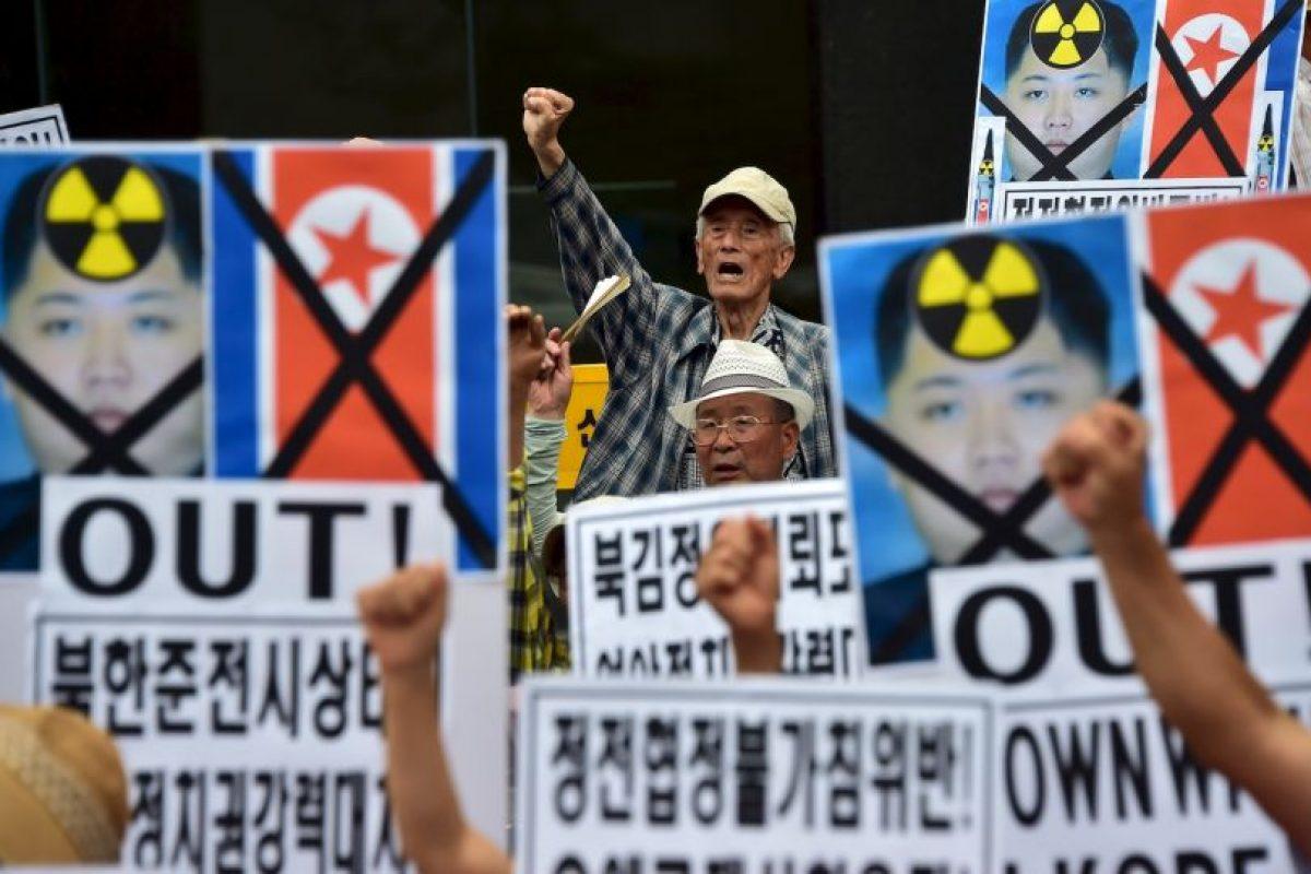En Corea del Sur hubo protestas Foto:AFP. Imagen Por: