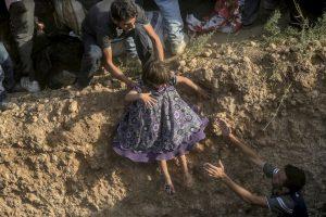 Según la Organización Internacional para las Migraciones, a nivel mundial y durante este año han fallecido tres mil 841 personas. Foto:AFP. Imagen Por: