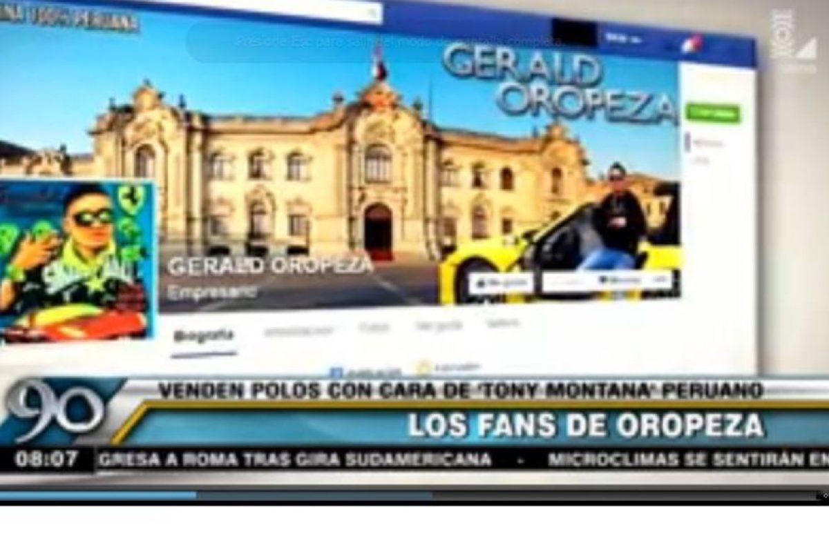 En redes sociales existen páginas de Facebook dedicadas a la figura de Oropeza Foto:Vía facebook.com/GeraldOropezaOficial. Imagen Por: