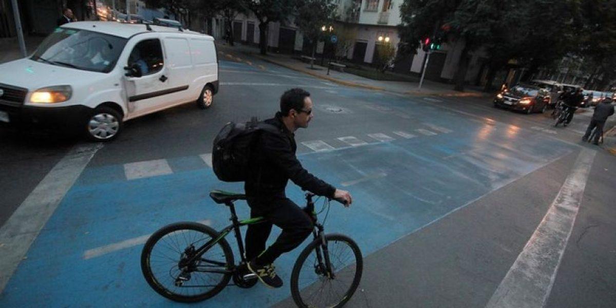 Los nuevos 13 km de ciclovías que tendrá la comuna de Santiago