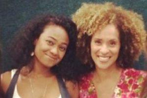 """Aquí en su reencuentro con Karyn Parsons (""""Hilary Banks"""") Foto:vía instagram.com/tatyanaali. Imagen Por:"""