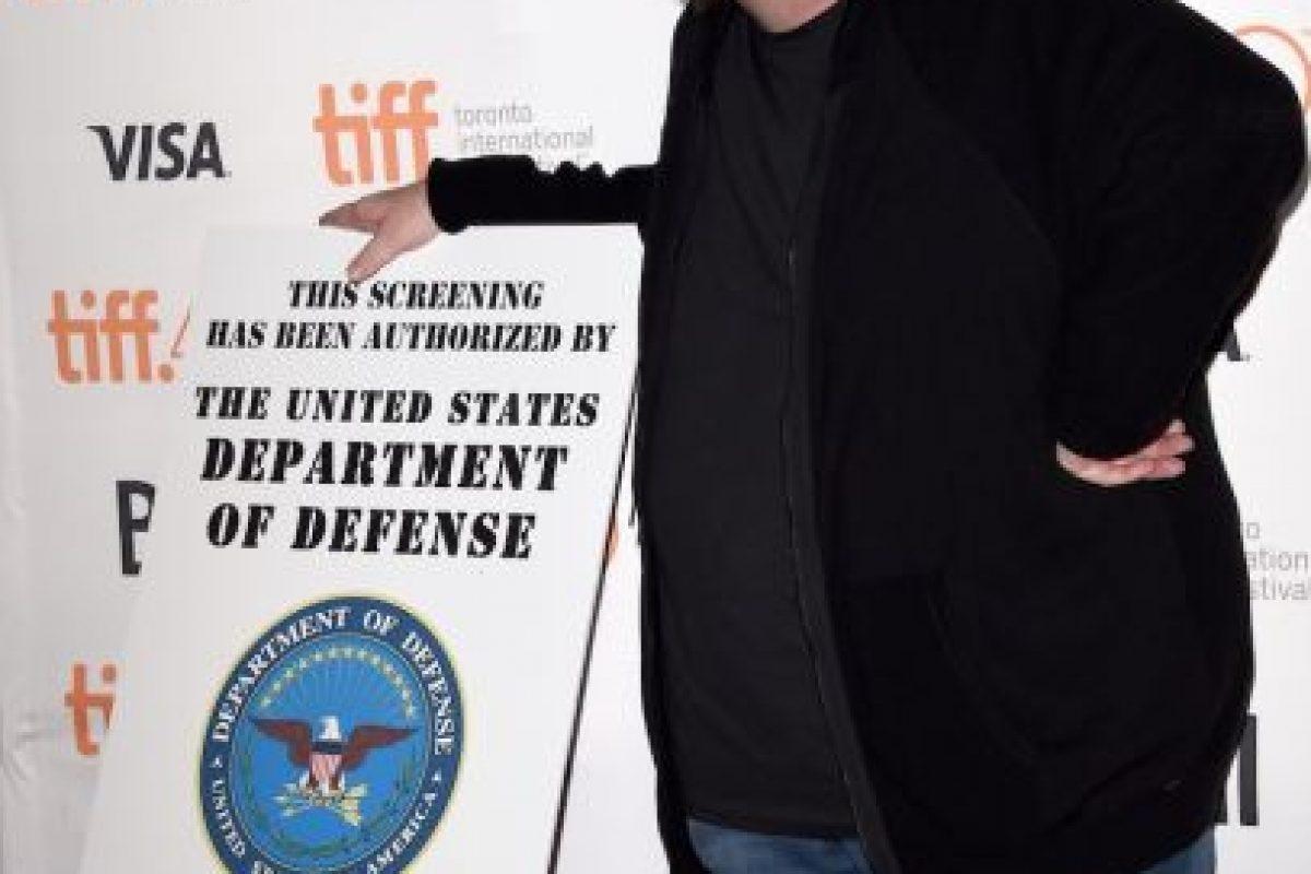 El cineasta presentó su nuevo proyecto en el Festival de Cine de Toronto, donde negó su apoyo a Hilary Clinton, actual aspirante a la presidencia de los Estados Unidos. Foto:Getty Images. Imagen Por: