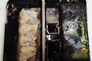 5) iPhones incendiados Foto:Pinterest. Imagen Por: