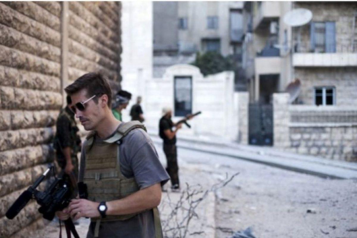 El periodista estadounidense cubría la guerra civil en Siria cuando fue capturado por el grupo terrorista Estado Islámico en 2012. Foto:AFP. Imagen Por: