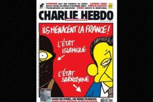 Y el expresidente Nicolás Sarkozy Foto:Vía: www.facebook.com/CharlieHebdoOfficiel. Imagen Por: