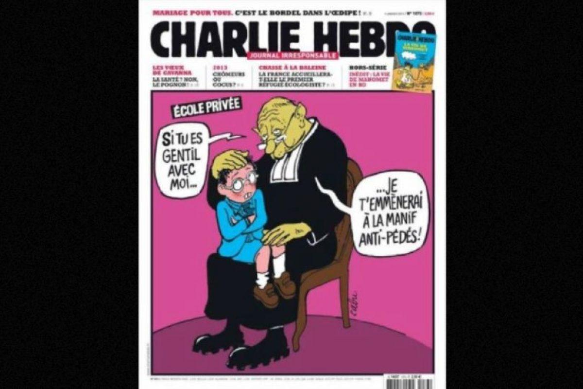 En represión por sus dibujos sobre Mahoma, algo que ellos consideraron una ofensa Foto:Vía: www.facebook.com/CharlieHebdoOfficiel. Imagen Por: