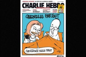 Otras eran referentes a políticos franceses como el presidente Francois Hollande Foto:Vía: www.facebook.com/CharlieHebdoOfficiel. Imagen Por: