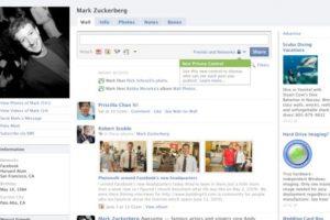2009. Las configuraciones de privacidad llegaron para quedarse. Foto:Facebook.com. Imagen Por: