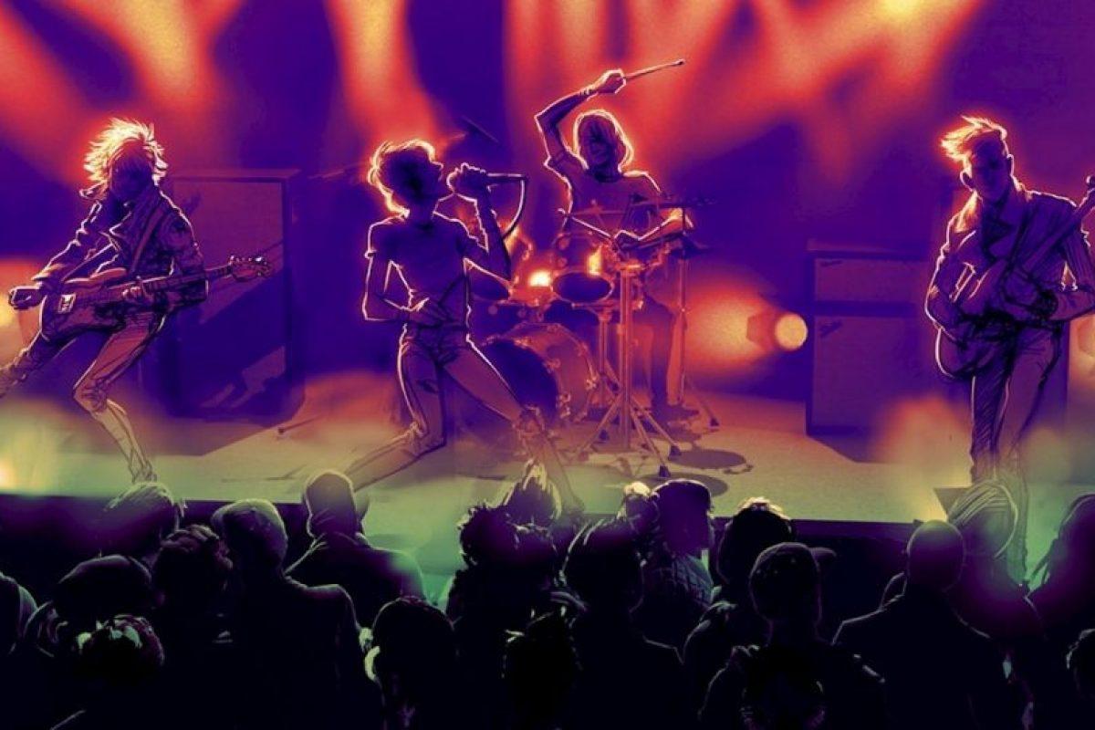 Bajo, batería, micrófono y guitarra serán los instrumentos disponibles. Foto:Harmonix. Imagen Por: