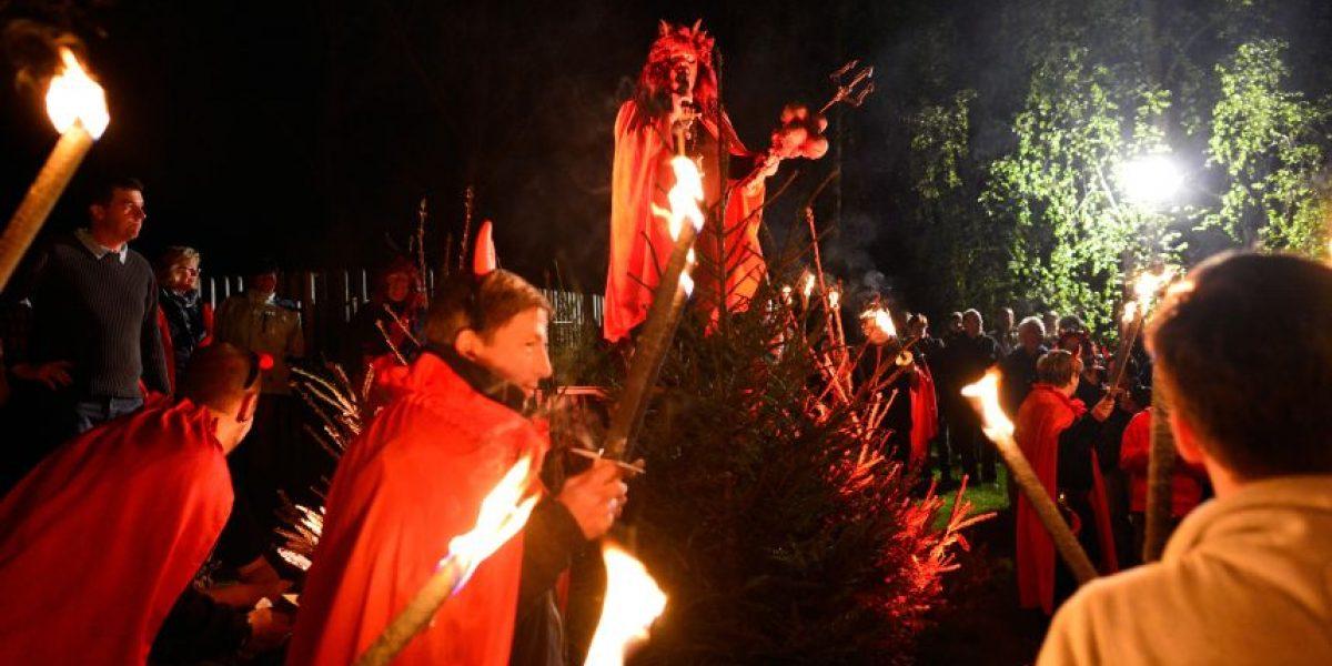 Este es el Cristo que se instaló en Quilicura para espantar al Diablo